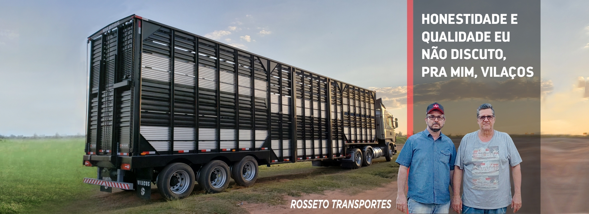 Semirreboque Rosseto Transportes